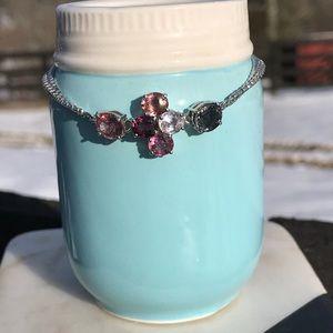 Burmese multi color spinel Bracelet